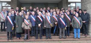 Maires ruraux du 35 à la Préfecture